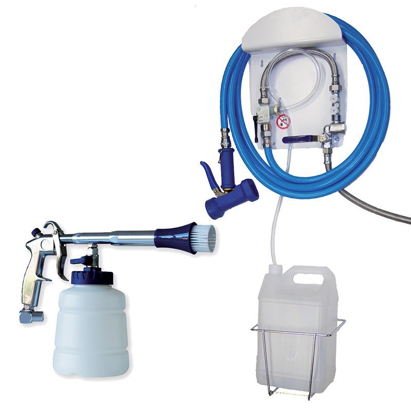 Poste de désinfection - Pulvé - Pompes | Matériels et accessoires pour utiliser les produits Bio Attitude