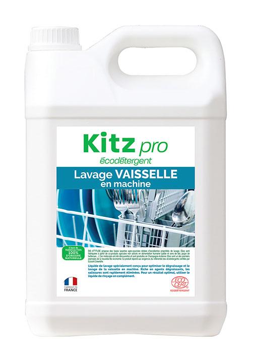 Lavage Vaisselle en Machine Kitz Pro - Nettoyants écologiques puissants pour l'entretien des locaux professionnels et de la maison.