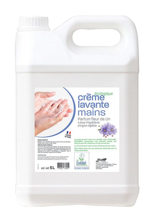 Crème lavante mains - Nettoyants écologiques puissants pour l'entretien des locaux professionnels et de la maison.